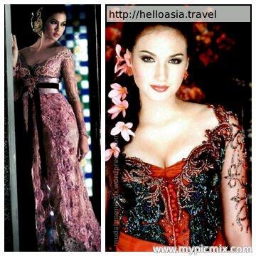 Indonesian Kebaya  http://helloasia.travel