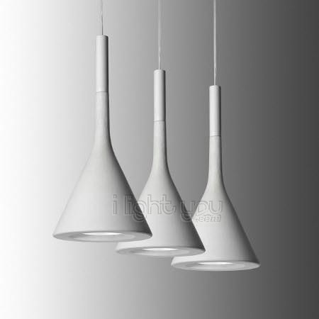 """Product Description  Cement plumb lamp. The challenge is to completely change to """"scale from great achievements in the architectural dimensions to a small suspension, the narrowest point is only a few millimeters thick.   The use of cement, a material so little malleable, is a bet that won with Foscarini, this is the case to say a """"plumb"""" impeccabl, using the cement particularly fluid material whose effect is both raw and refined."""