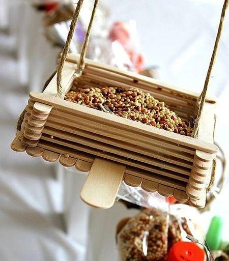 Креативная кормушка для птиц своими руками
