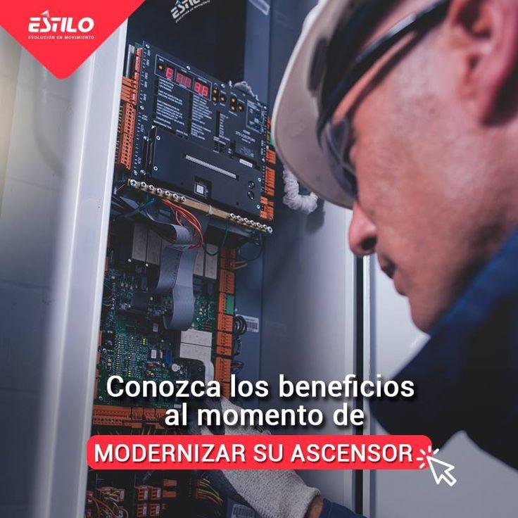 La modernización del ascensor de su edificio ofrece muchos beneficios. Encuentre más información en la siguiente noticia LINK NOTICIA: http://bit.ly/2fbxgWe