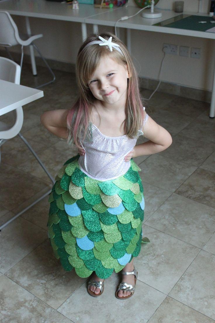 Homemade Mermaid Costume - Mama.Papa.Bubba.