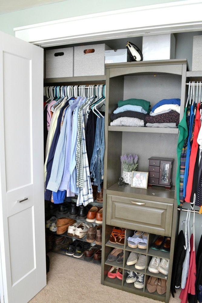 small closet makeover in 2019 nice ideas small closets closet rh pinterest com