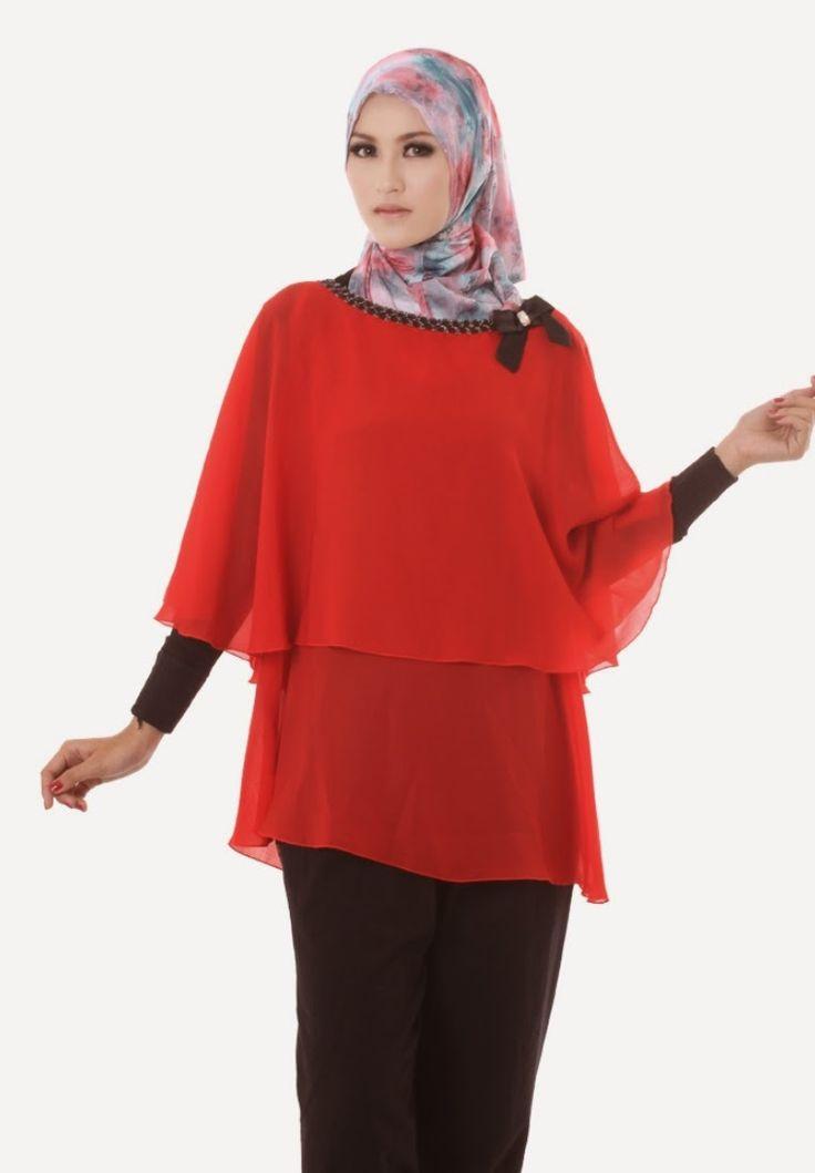 BLOUSE dan MANSET dari koleksi AIMEERA INNERS BLOUSE CHIFON, blouse dengan berbahan chifon lembut tersedia dengan warna merah dan cream.  HARGA : Rp.150.000  DETAIL ORDER :  SILFIYA SMS / WHATSAPP : 081323565991 BBM 294E3A31