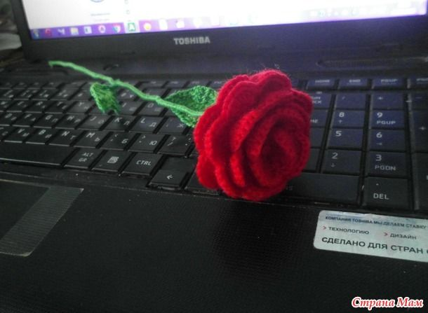 Букетик роз на 8 марта) + 1 розочка) дополнила.