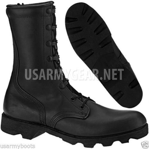 New US Army Altama All Leather Vulcanized Waterproof Black Combat Military Boots | US Army Gear