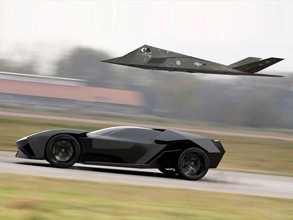 Lamborghini Ankonian Concept by Slavche Tanevsky