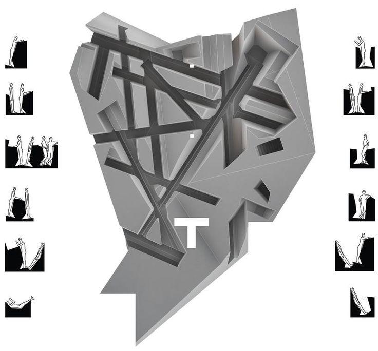 В галерее Looiersgracht 60 в Амстердаме они создали оригинальное офисное пространство… где негде присесть. Авторы задумали этот проект как антитезу традиционному способу организации пространства, где все ориентировано на то, чтобы человек сидел большую часть времени.  #internirussia #art #design #искусство #дизайн