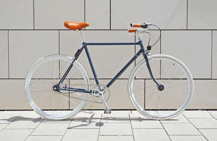 DIY-Neuaufbau eines alten Fahrrads: Ein altes Rad in cleaner Singlespeed-Optik als Urban-Bike mit Nabenschaltung und Licht selber machen und neu aufbauen