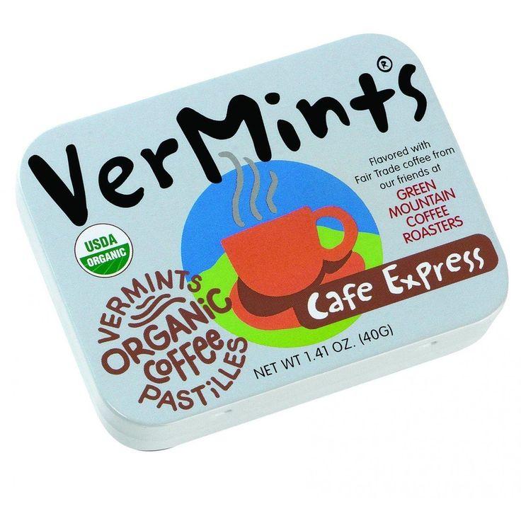 Vermints Pastilles All Natural Cafe Express 1.41 Oz Case Of 6