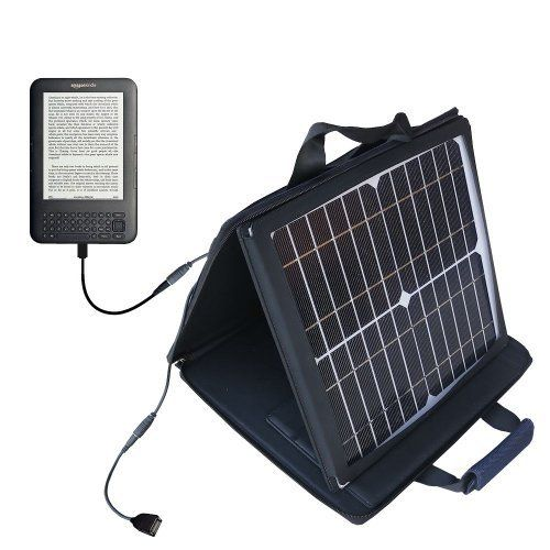 New Gomadic SunVolt Powerful and Portable Solar Charger for Amazon Kindle st Generation Incredible
