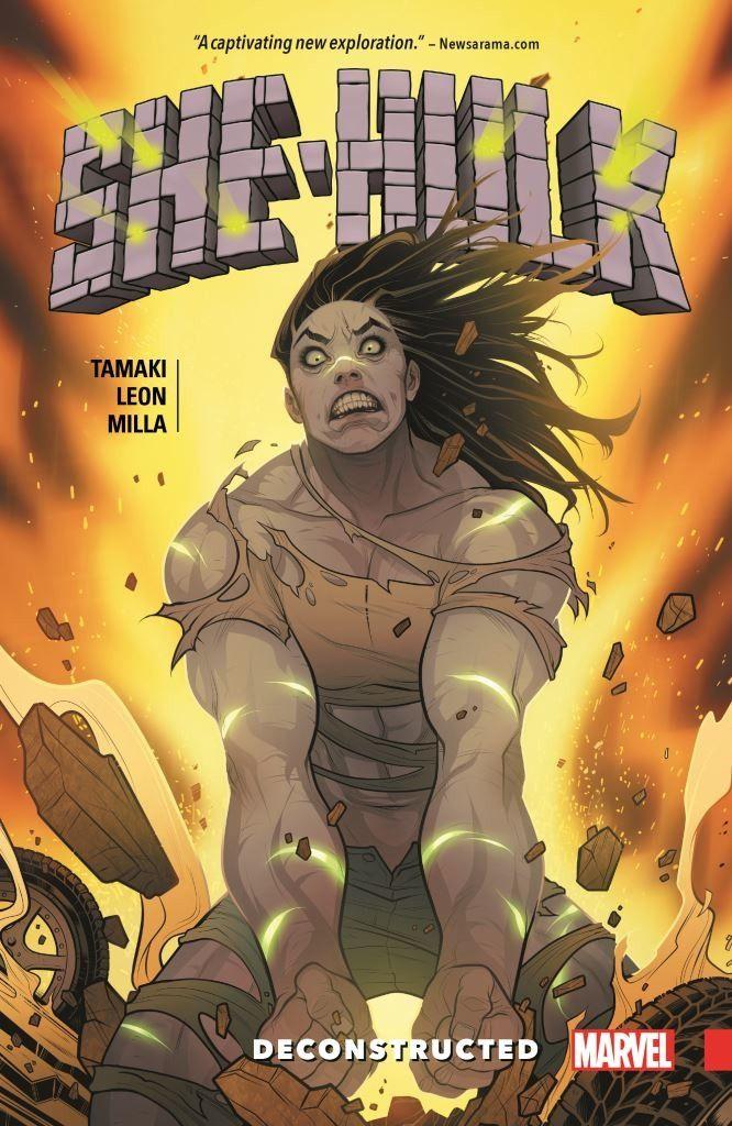 She-Hulk (2016) Vol 01 Deconstructed TP