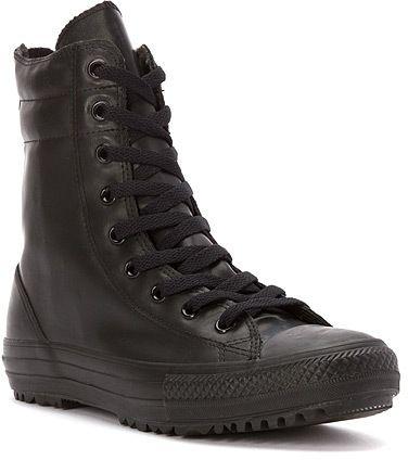 converse Women's Chuck Taylor Hi-Rise Rubber Rain Boot Sneaker