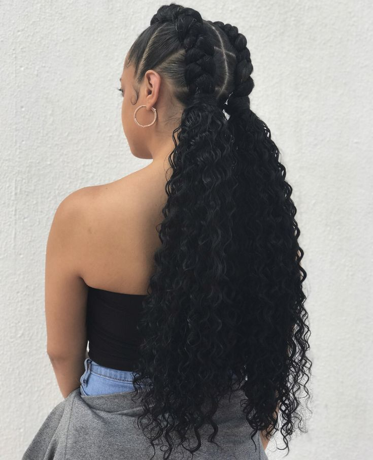 Braided Braids With Weave Weave Hairstyles Braided Hair Styles