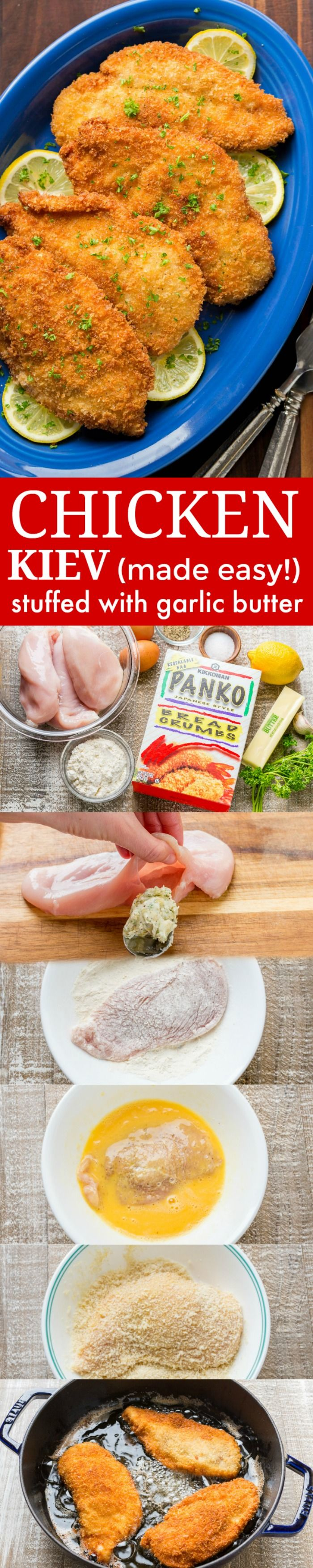 Slow Cooker: Easy Chicken Kiev Recipe - NatashasKitchen.com