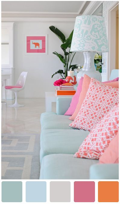 Love this color scheme for a little girl. too old for a nursery and too young for an adult color palate.