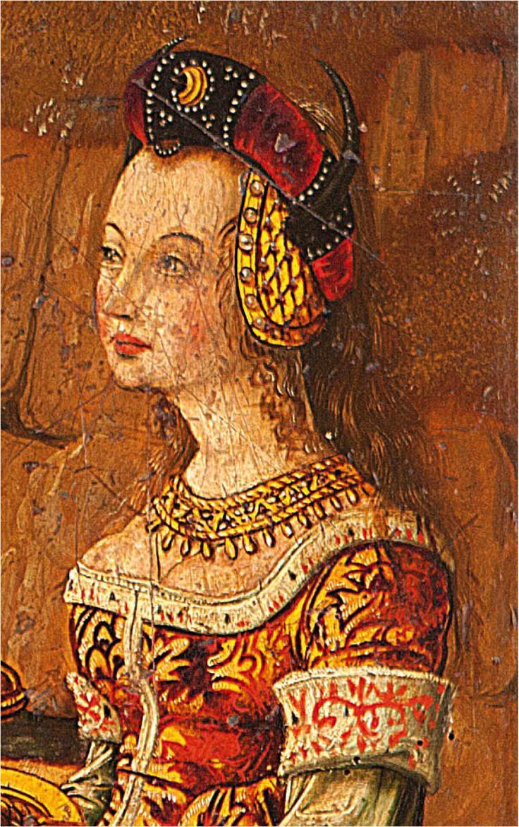 Maestro Palanquinos, h.1490-1500, Art Instute of Chicago, EEUU (detalle). Las tentaciones de San Antonio, Anonimo, h. 1480, subasta (detalle)