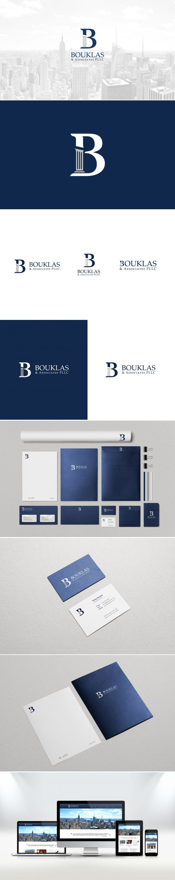 Bouklas & Associates Logo and Identity