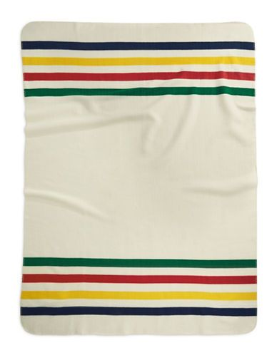 Multi Stripe Polar Fleece Throw | Hudson's Bay