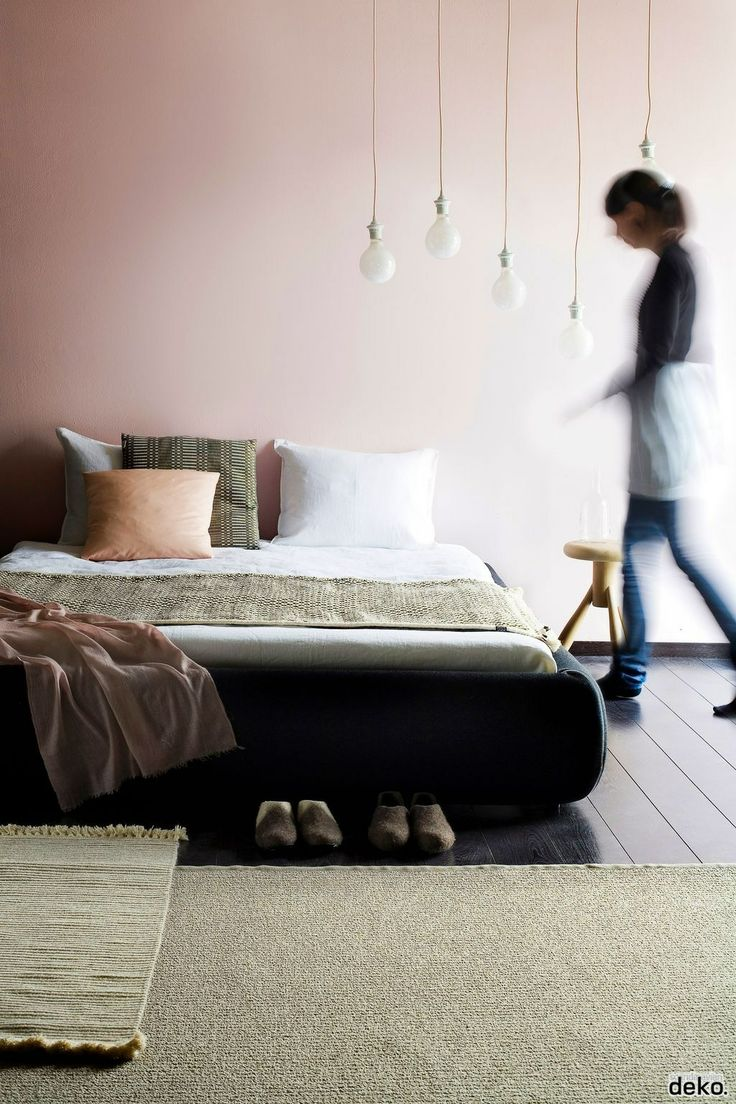 BEDROOMS accent with black and charcoal now