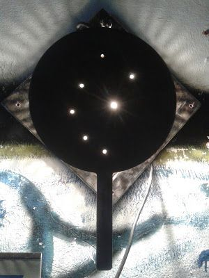 sbancali: lampada ferro