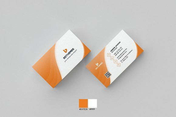 Business Card Template 16 by BdThemes on @creativemarket