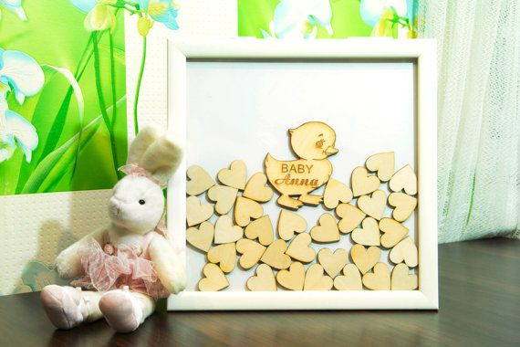 baby shower guest book alternative baby boy guestbook baby girl frame