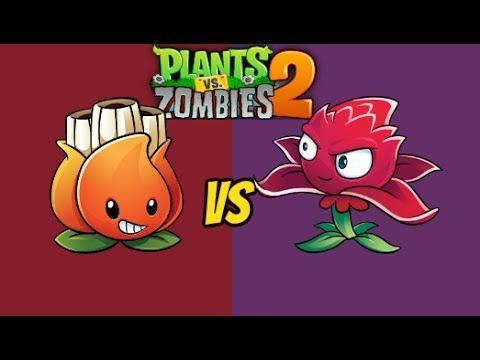 Plants vs Zombies 2 Red Stinger Vs A K E E