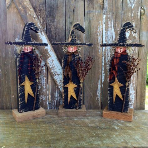 Primitive Primitive Witch Primitive fall decor Country