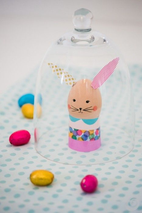 ✝Easter Eggs with washi tape...how to...