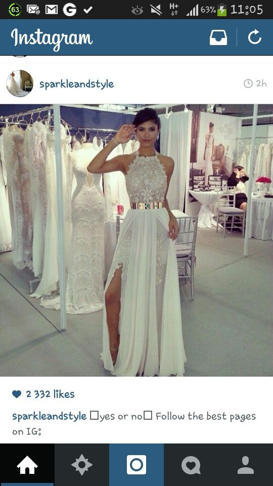 Post weddding dress