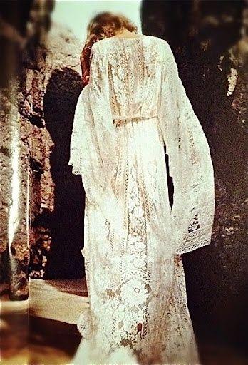 Lace Long Sleeve Dress -