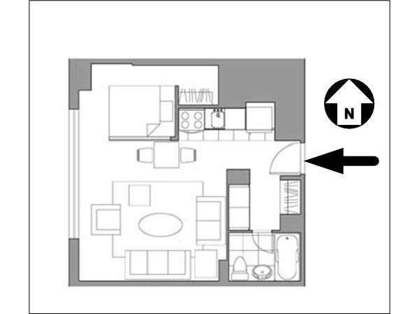 Studio Apartment Floor Plans New York 29 best floor plans images on pinterest | floor plans, apartment