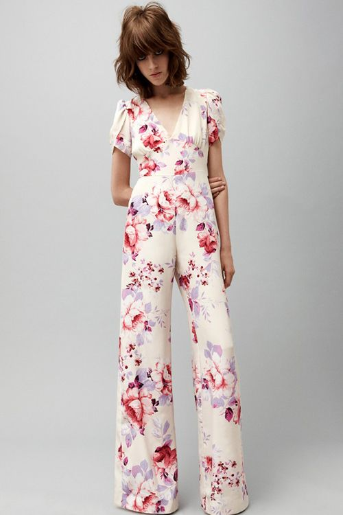 Floral patterns AND a jumpsuit = this is me.