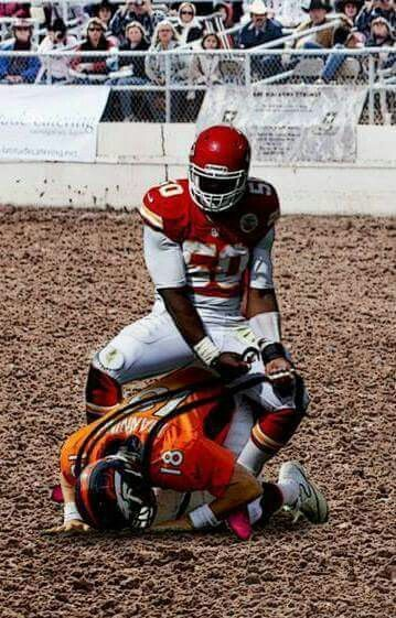 Justin Houston places 1st in Bronco Busting on 11-15-2015
