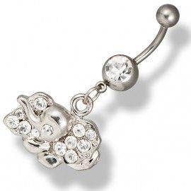 Köldök piercing