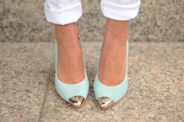 LovelyPepa: Mint Green, Mint Heels, Mint Gold, Color, Tiffany Blue, Mint Shoes, Blue Shoes, Mint Pumps, French Tips