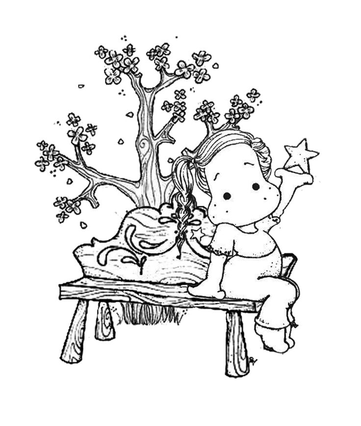 magnolia tree coloring pages - photo#43