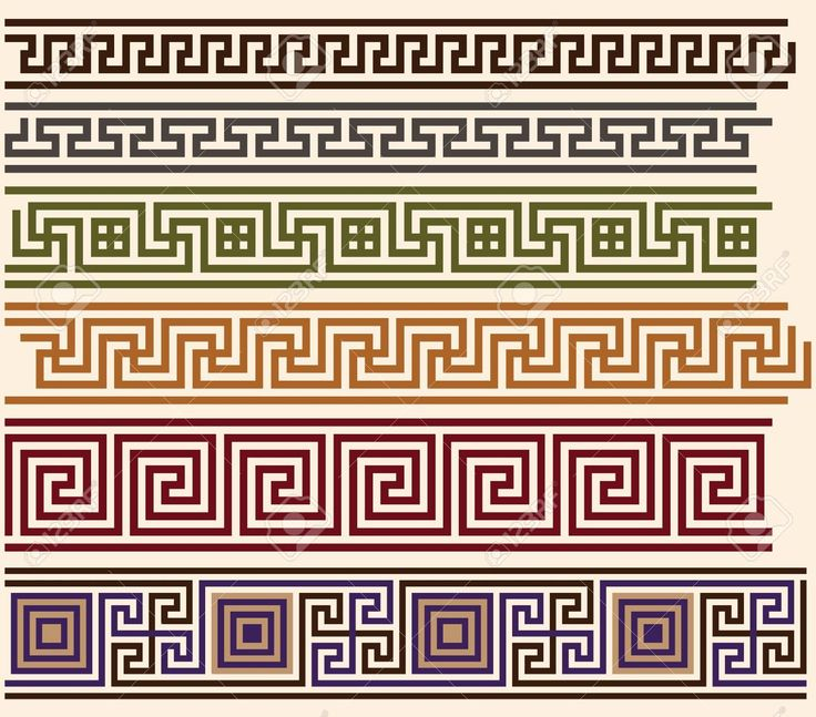 meander pattern ancient greece - Google Search