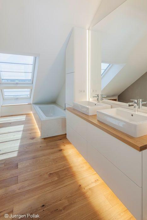 Spacieuse, moderne et lumineuse, la nouvelle maison a été conçue pour une famille de quatre …