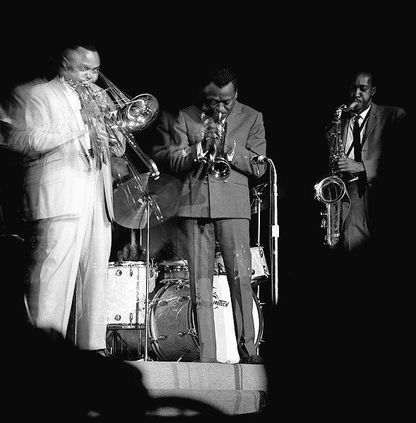 J.J. Johnson, Miles Davis and Hank Mobley, Chicago 1961