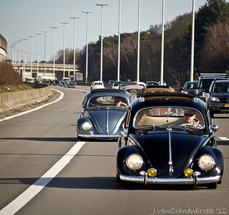Volkswagen Beetle Retro 4k Hd Wallpaper: 22 Best Vintage Cal-Style VW's Images On Pinterest