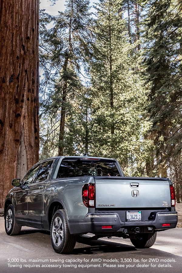 Find The Perfect Trailhead And Head Out For A Hike This Weekend In The Available 2019 All Wheel Drive Honda Ridgeline Honda Ridgeline Honda Honda Motors