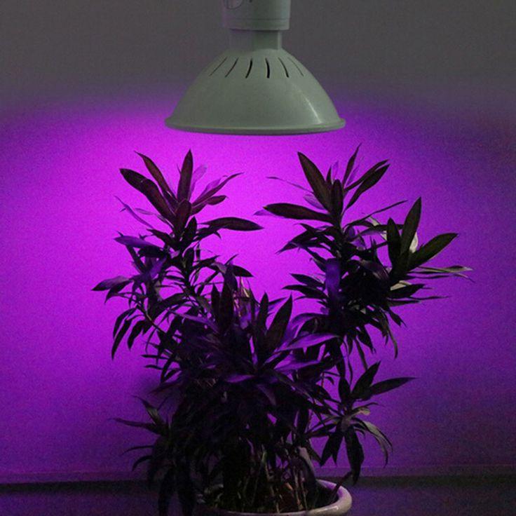 AC 85-265V Leds Grow Light E27 200 LED 12W Grow Light Bulb Garden Indoor Plant Lamp Hydroponics Greenhouse #Affiliate