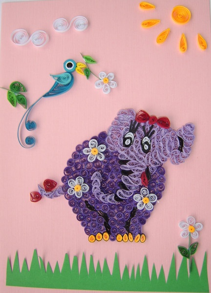 Russian blog amazing worksPaper Quilling, Russian Blog, Amazing Work, Blog Amazing, Art Paper, Beautiful Quilling, Quilling Art, Quilling Elephant, Russia Artists