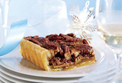 Tarte aux pacanes traditionnelle #dessert #noel