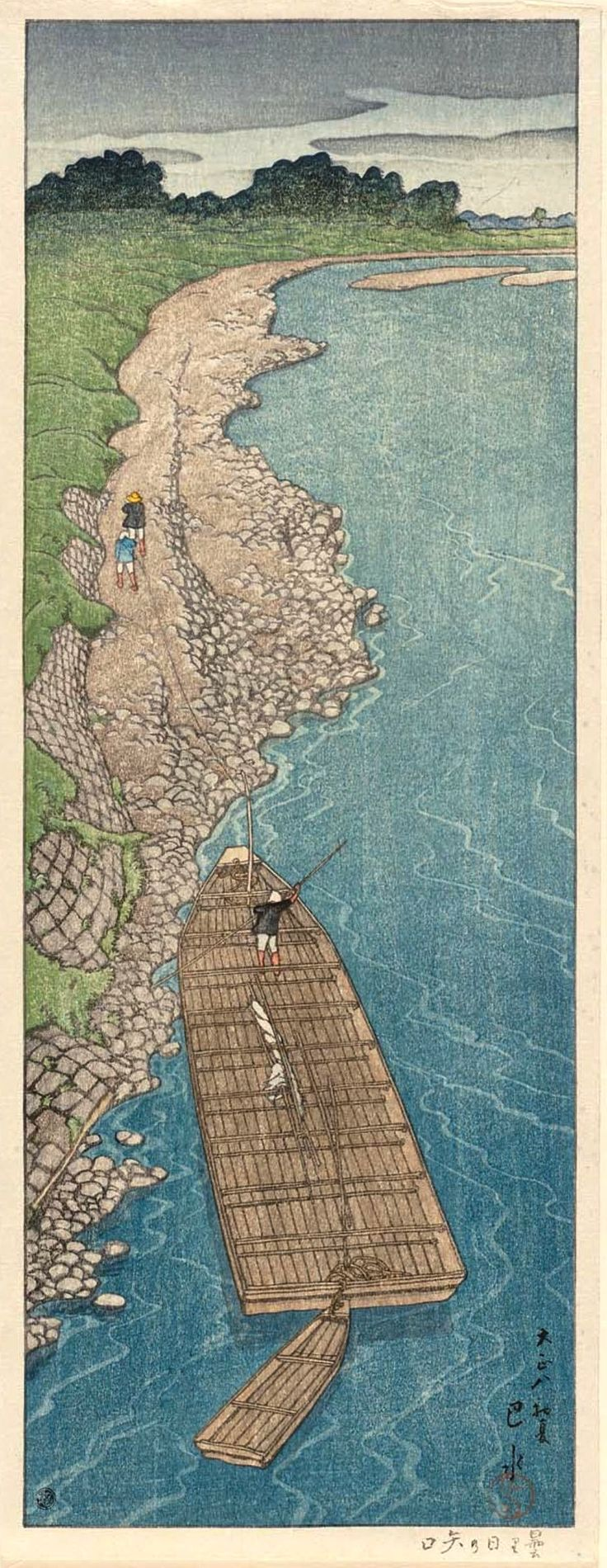 Kawase Husai 531 best art asian influence