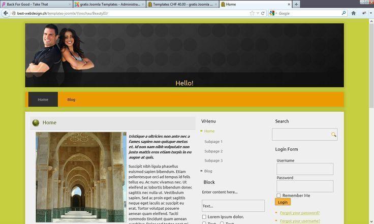 Professionelles Webdesign für die Beautystudios und Coiffeure – – – –