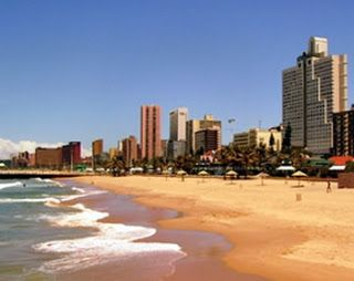Durban's Golden Mile.