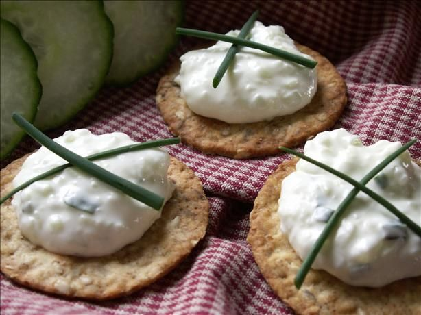 Ms. Jenny Benedict s Famous Cucumber Spread from Food.com: This cucumber finger sandwich filling was created by Jenny Benedict, a popular caterer in Louisville, KY way back when. Now, it is a Kentucky favorite and dang near a recipe you MUST have on the table for a Derby party.