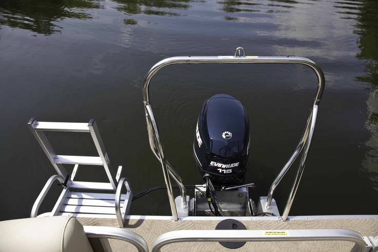 Ski Tow Bar On Every Boat Sweetwater Premium Pontoon